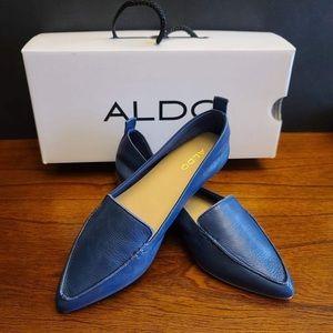 Aldo Follona Flat Leather Shoes
